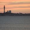 Provincetown, Mass., as seen across Cape Cod Bay from North Truro, Mass.