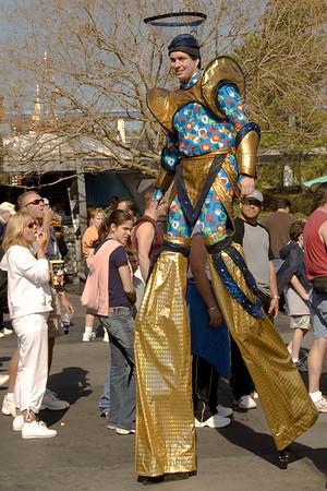 Disneyworld, New Year's Eve 2005-2006