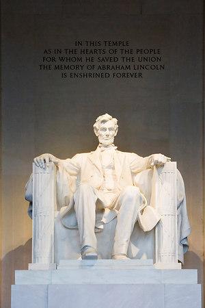 The Lincoln Memorial Washington D.C. June 14th, 2006