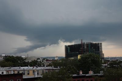 Almost a tornado... 2008-06-29 Brooklyn