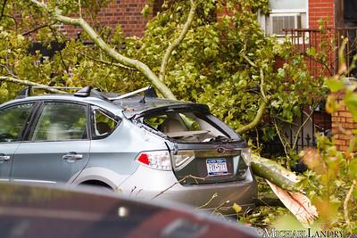 A direct hit  Park Slope, Brooklyn Tornado 9/16/10 - (c) Michael Landry.com