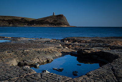 Clavell Tower Over Kimmeridge Bay