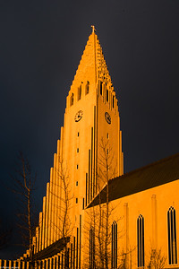 Hallgrimskirkja - Also in Gold