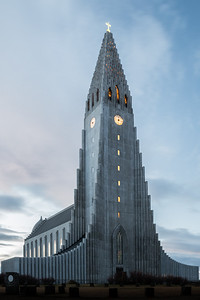 Hallgrimskirkja before Sunrise