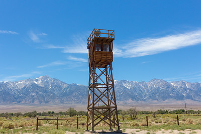 Manzanar Watch Tower