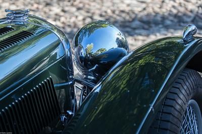 Jaguar 100 SS - Detail