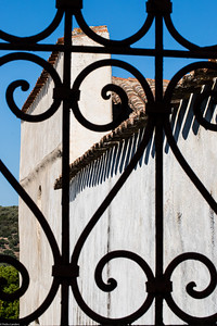Clay Tiles and Wrought Iron