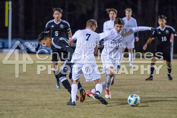2018 PVHS Boys Varsity Soccer vs Berea
