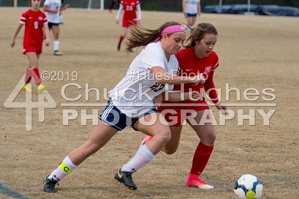 2018 PVHS Girls V Soccer vs Palmetto