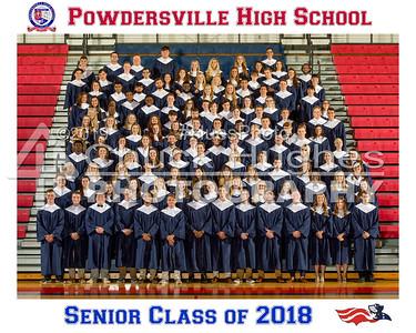 2018 PVHS Senior Class Group Shot
