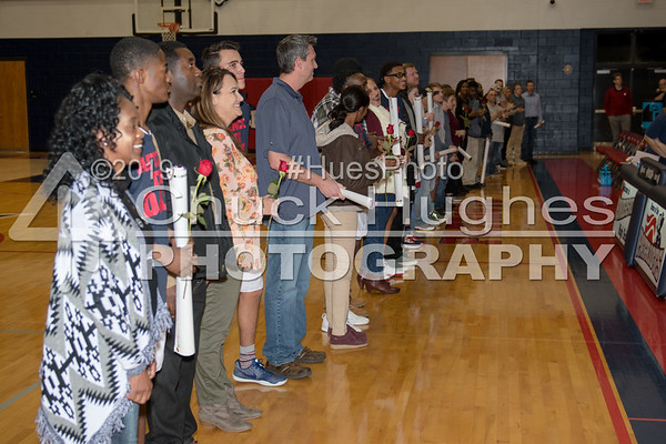 2018 PVHS Winter Sports Senior Recognition