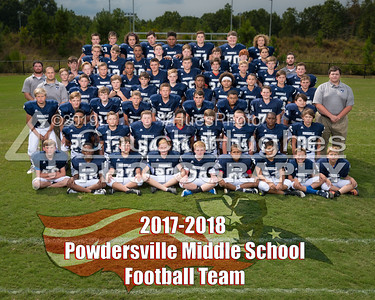 2017 PVMS Formal Football Pictures