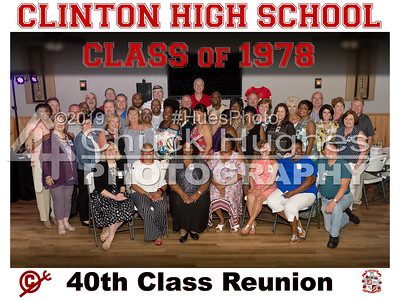 2018 Clinton High School Class of 78 - 40th Reunion