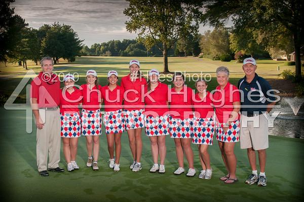 PVHS Lady Patriots Golf Tournament 09/22/2014