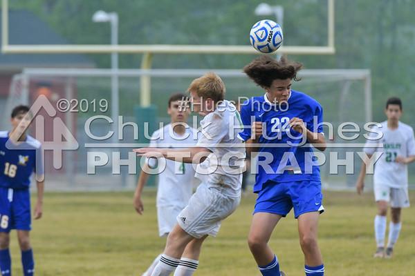 2017 Easley Varsity Boys Soccer vs Wren