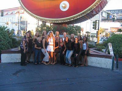 The girls in Vegas