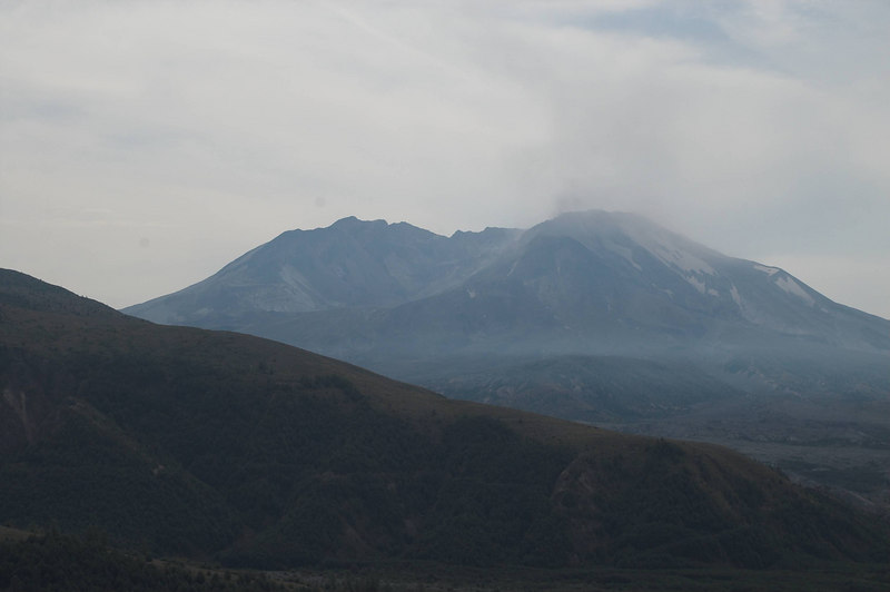 Mt St Helens taken from the Coldwater Viewpoint.