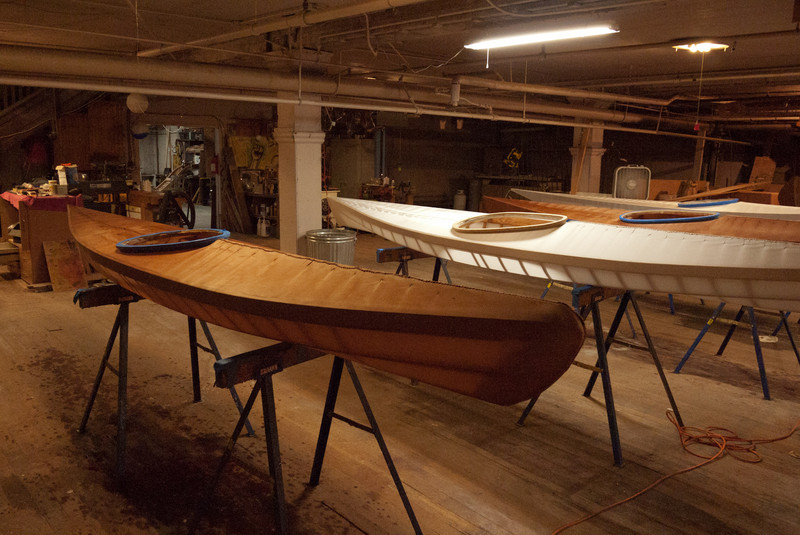 Two boats have dye