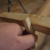 Marking the inside of each tenon