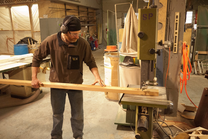 First cut for a homemade paddle