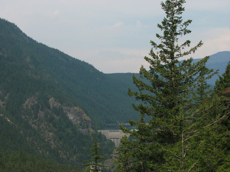 Ross Dam from SR20