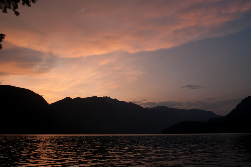 Sunset over Spencer's
