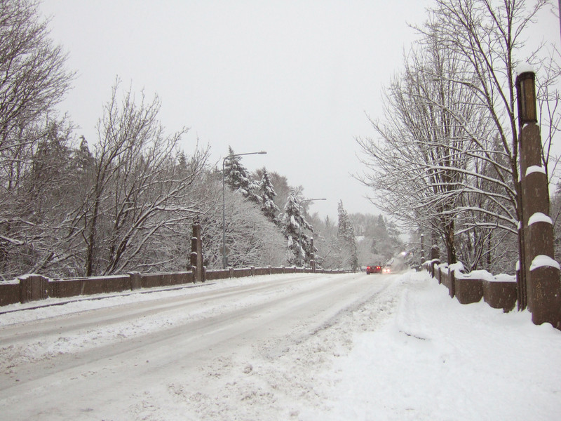 """15th Ave is the biggest arterial near our house, and got """"plowed"""" this morning.  It's still a mess."""