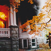New London Firefighter Todd Page vents the widows of an office as heavy smoke and fire pushes out.<br /> Firehouse Magazine Hot Shots