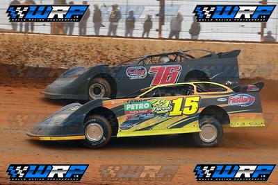Donny Schatz (15) & Brandon Overton (76)