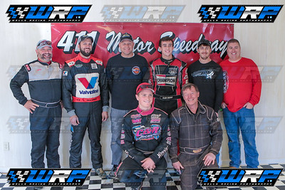 Jeff Neubert, Zach Powers, Shon Flannery, Blake Brown, Levi Ashby, Chris Tilley, Carder Miller, Joey Standridge
