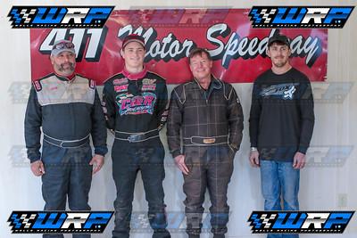 Jeff Neubert, Carder Miller, Joey Standridge & Levi Ashby