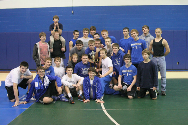 Oldham County Wresling 2012