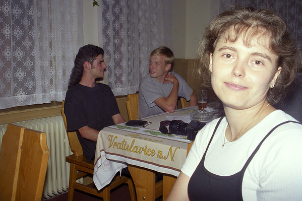 Gigachat party in Bedrichov