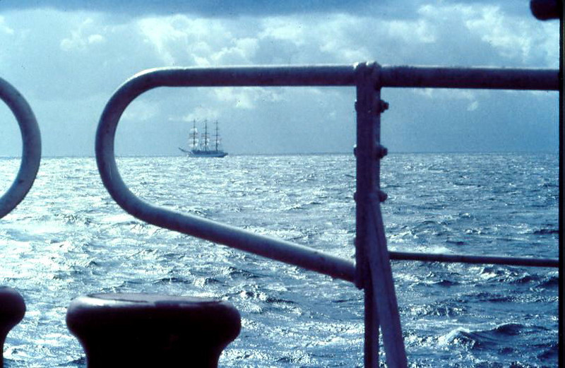 Dar  Mlodziezy  en  mer Baltique