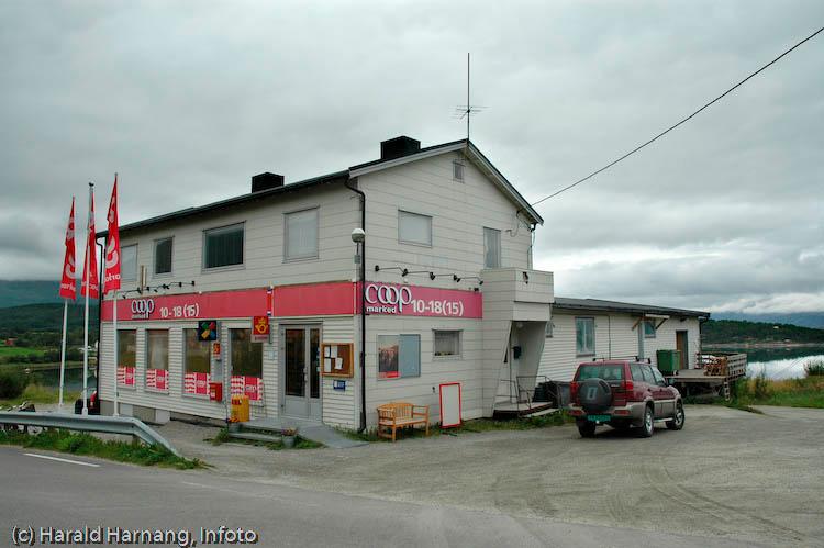 Coop i Kjeldebotn i Ballangen kommune