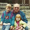 At the zoo with Grandpa