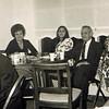 Lydia, Renee, Uncle Abe Harris,  Bea Alpert  Ray Tunkel on left