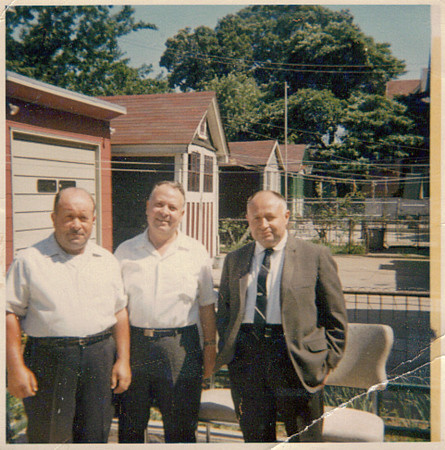 Rudy, Victor and Carmine Daloia (l-r).