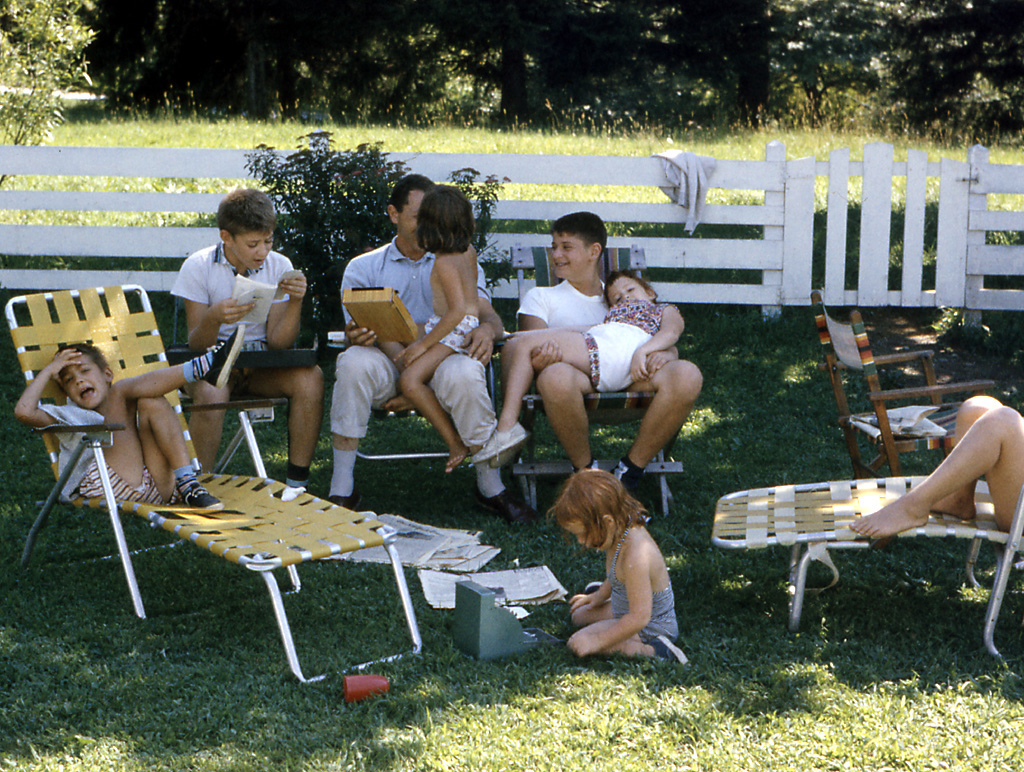 Back yard of Cynthia and Lenny's house in Peekskill, NY