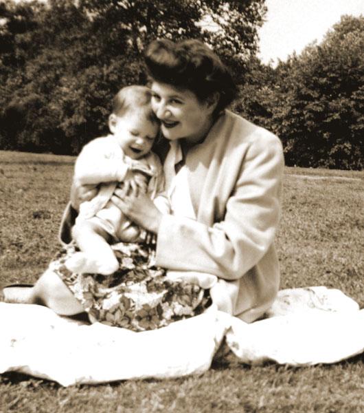 Cynthia Schwartz with Steve Schwartz