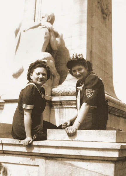 Bea Katz and Cynthia Schwartz  in Washington, DC