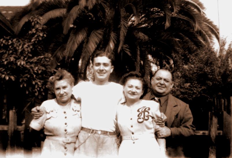 Grandma Rose, Sol Schwartz, Bea Katz, Nathan Rosner
