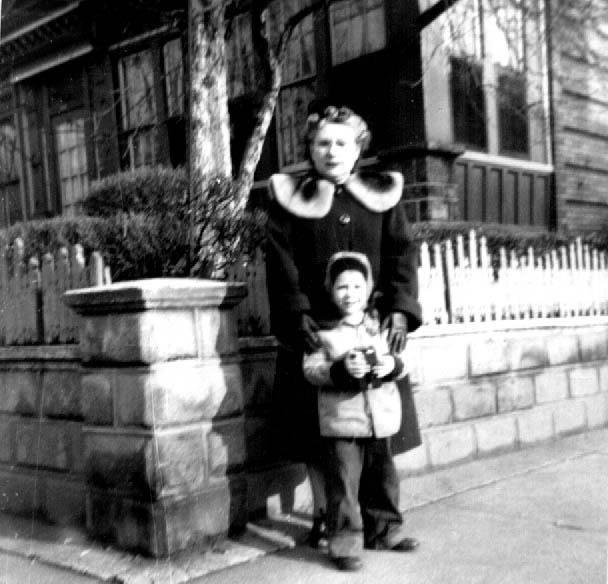 Grandma Rose and Steven Schwartz