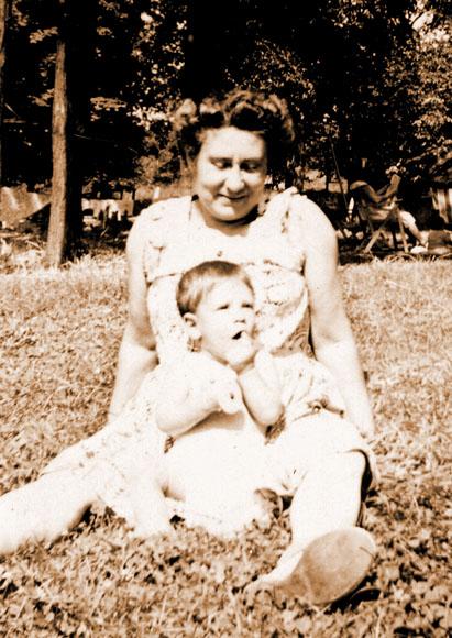 Grandma Rose with Steve Schwartz