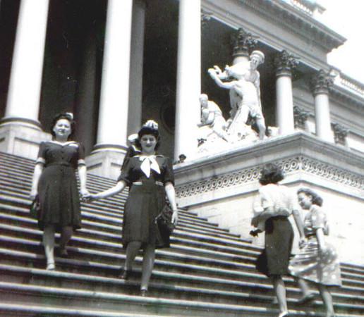Bea Katz and Cynthia Schwartz in Washington, DC