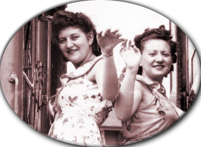 Cynthia Schwartz and Bea Katz