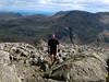 Jon reaching summit of Great Gable.