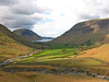 Wasdale Head & Wastwater from Gavel Neese
