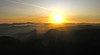 Sunrise from Grisedale Pike.