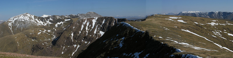 Dodgy stitch on this one, but still a great view